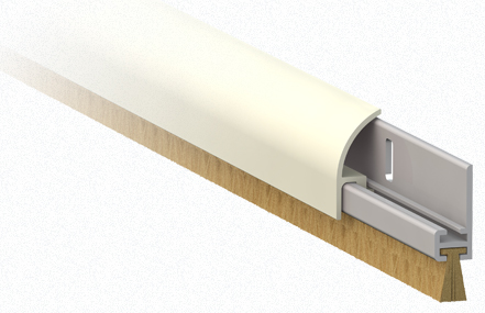 Fixed Draft Excluder For Doors Comaglio 1255 Comax Series
