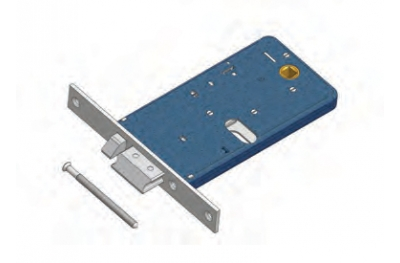 Latch with flow Omec Exclusion flow electric lock in range