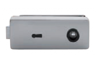 Lock for Glass Tropex with Key Hole Tropex 165x65mm