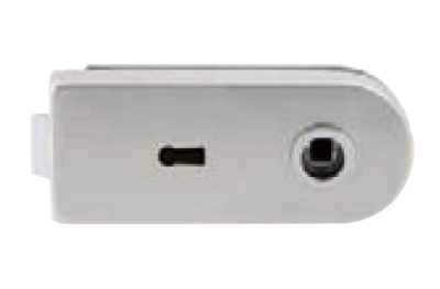 Lock for Glass Tropex with Key Hole Tropex 160x65mm
