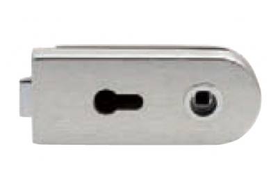 Lock for Glass Tropex with Yale Forum Tropex 160x65mm