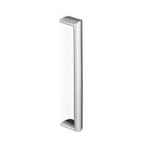 200E-031 pba Tubular Elliptical Pull Handle in Stainless Steel AISI 316L