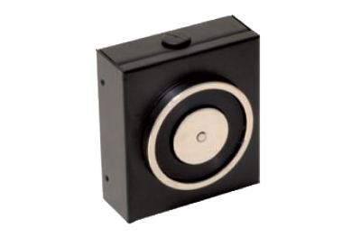 Hold Open Electromagnet Black 140 Kg without Push Button Release 18100 Opera