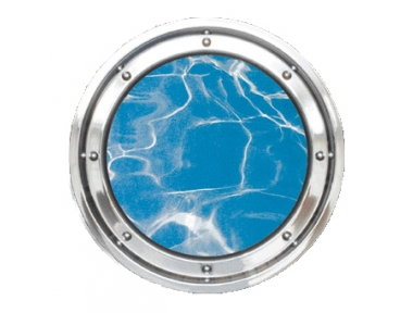 Porthole Underwater Stainless Steel Round of Masonry Colombo 316
