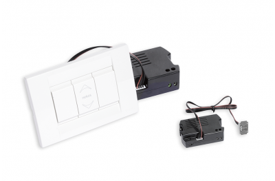 Electrical Feeder ALI'SW 24V Nekos with Bipolar Buttons Vimar White