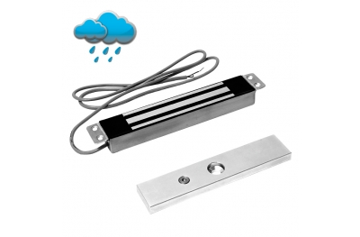Micro Electromagnetic Lock 150 Kg in Stainless Steel 12500 Opera Safety Series