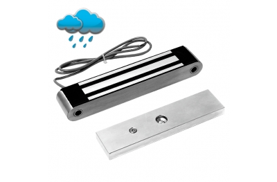 Midi Electromagnetic Lock 350 Kg in Stainless Steel 13400 Opera Safety Series