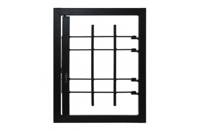 Grating Light 1 Door Without Joint Security Class 3 frame Standard Leon Openings