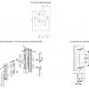 Handle Window Cremonese Giesse Nova Ambidextrous Bidirectional External