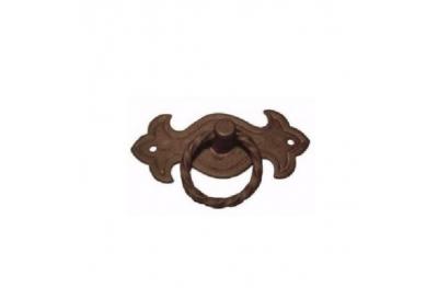 Furniture Handle Galbusera 033 Handmade Artistic Iron with Ring