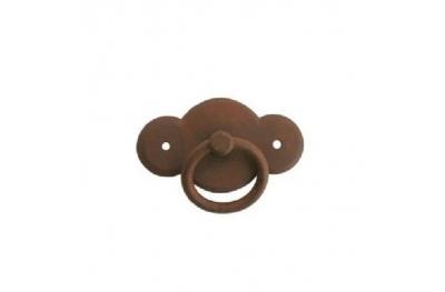Furniture Handle Galbusera 057 Handmade Artistic Iron with Ring
