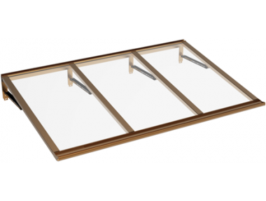 Shelter Lira Copper Transparent Aluminium AMA Sun Protection