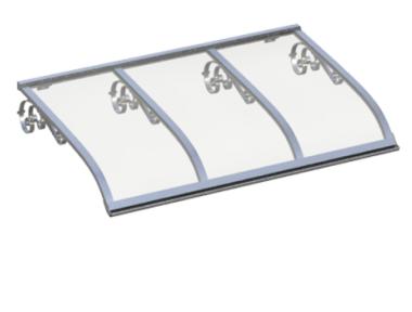 Shelter Sailing Old Aluminum Transparent Aluminium AMA Sun Protection