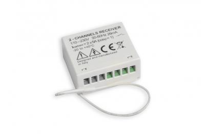 2-Channel Recessed Radio Receiver RR2-M Nekos