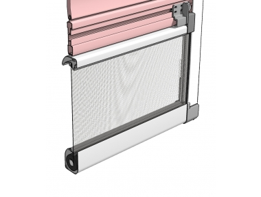 Flyscreen Bettio Flip 1 for Blinds with External Guides Fixed
