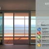 Bettio Flyscreen Miniscenica 2 Shutters Side Scrolling Without Barriers 40