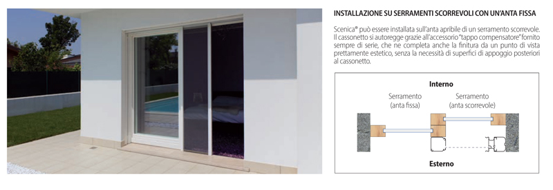 Bettio scenica installation of sliding doors