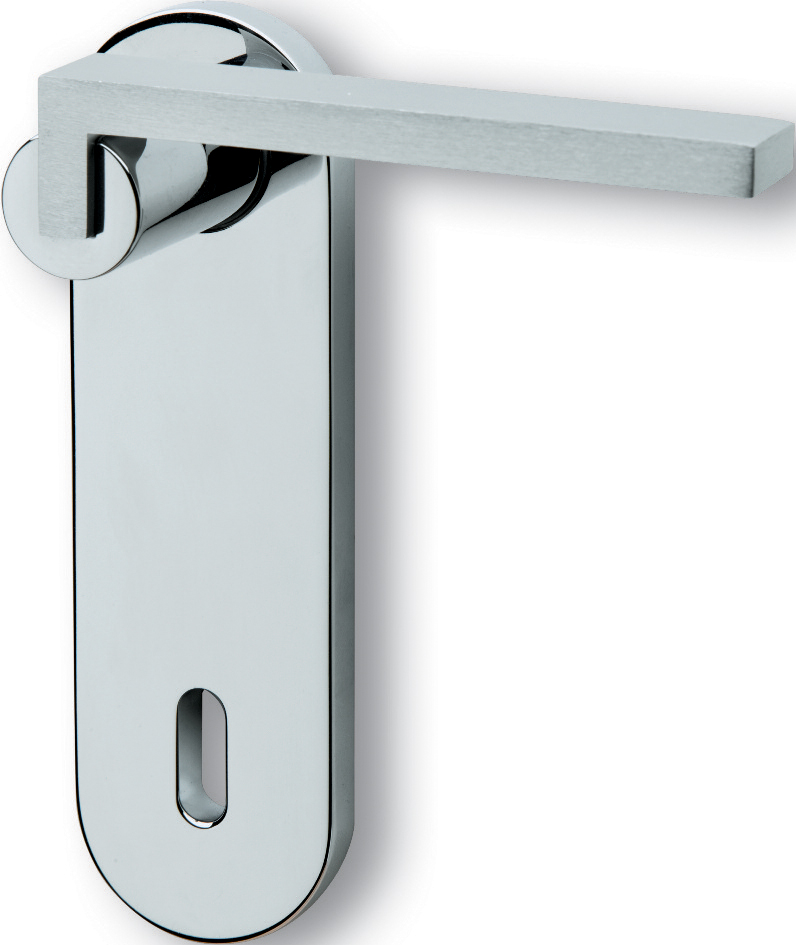 Ghidini Cartesio Lever Handle With Plate Buy Online Windowo