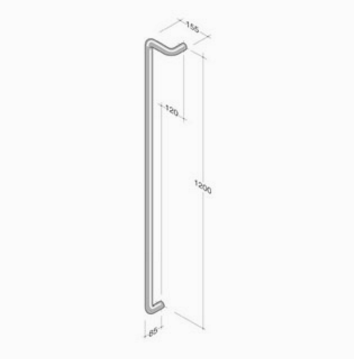 Store made in italy pba pull handles extruded aluminum windowo m18z pba handle aluminum right left extruded sciox Images