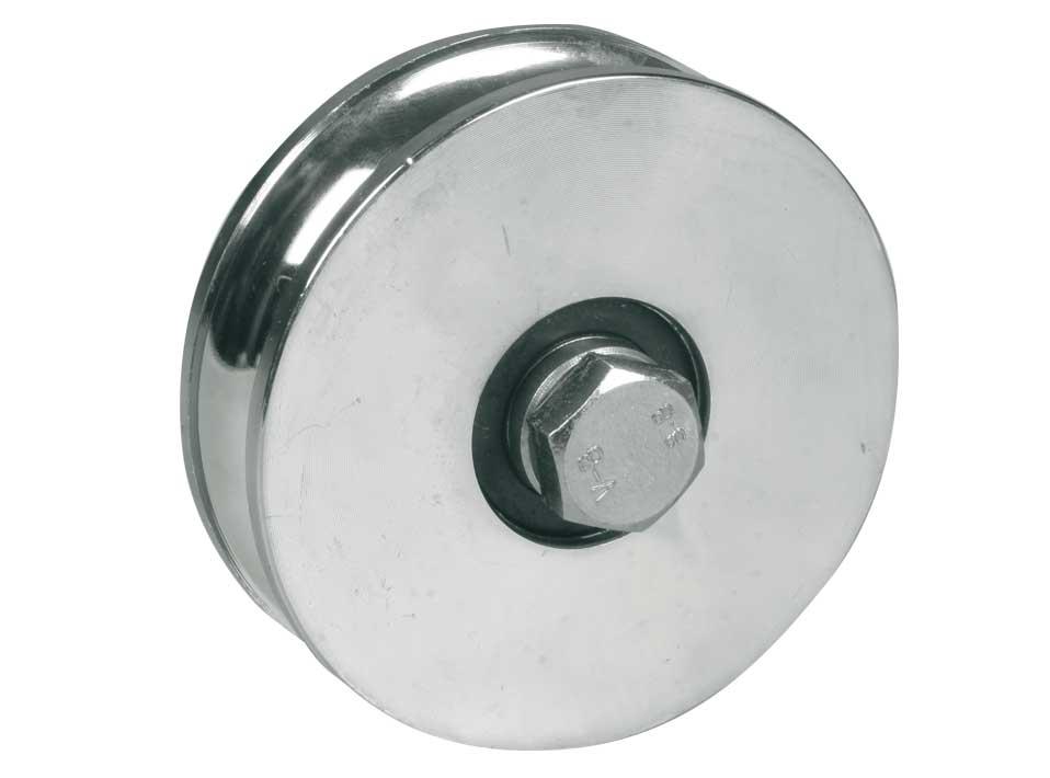 Wheel For Sliding Gates 2 Ball Bearing Round Groove Sale