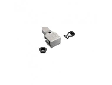 Savio plug Accessory for Anta in Zama Galvanized White
