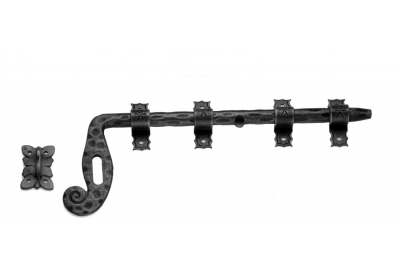 1021 Galbusera Horizontal Aldrop Bolt Wrought Iron Different Size