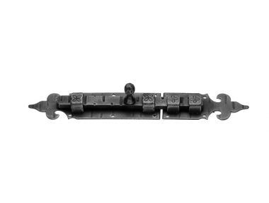 1029 Galbusera Horizontal Bolt Wrought Iron Different Size