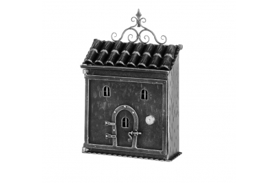1076 Galbusera Wall Mail Box Artistic Wrought Iron