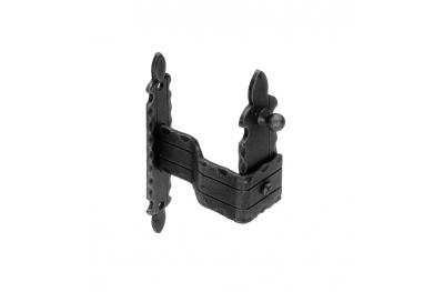 1101/V Shutter holder 170x30x3mm Zanca to Embed Galbusera Wrought Iron