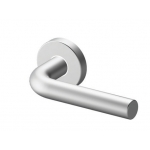 Handle Tropex Oslo in Satin Stainless Steel Rosette Round or Oval