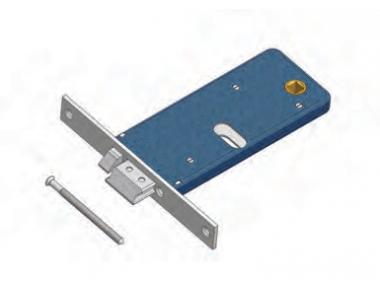 Latch with flow Omec Exclusion flow lock Aluminium Range Electric