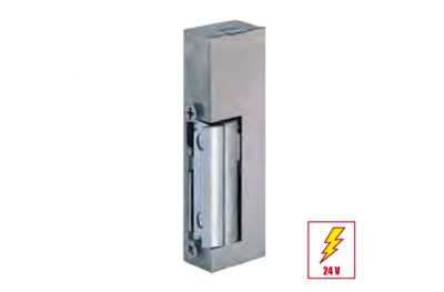 119 KL Electric Strike Door with Adjustable Latch with Plate Short Flat effeff