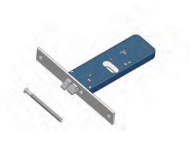 Omec Not Reversible latch lock Aluminium Range Electric