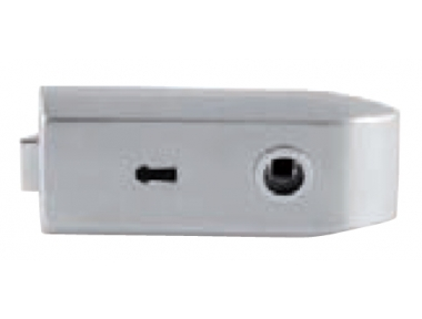 Lock for Glass Tropex with Key Hole Tropex 175x75mm