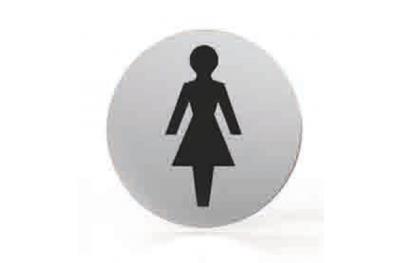 Pictogram for nozzle Round Bathroom Toilet Women Tropex