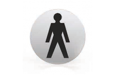 Pictogram for nozzle Round Bathroom Toilet Men Tropex