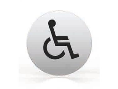 Pictogram for nozzle Round Bath Disabled Toilet Tropex