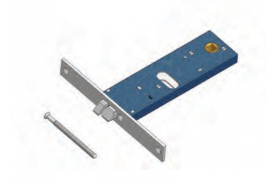 Omec latch electric lock in range for Aluminum