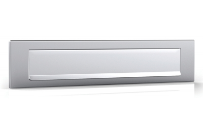 Satin Stainless Steel Plate for Mailbox Tropex