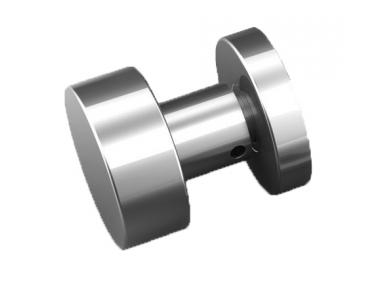 Plan knob stainless steel Tropex