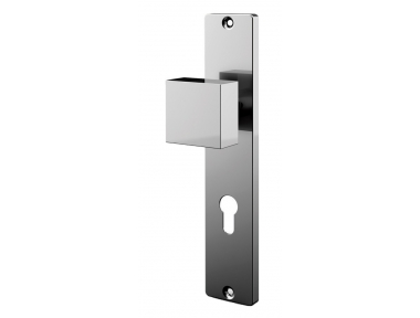 Knob panel with stainless steel plate Tropex
