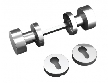 Double Knob Plan Framework with vents and stainless steel Tropex