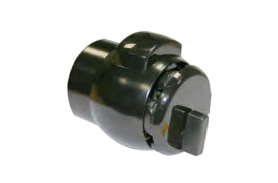 12 Knob PremiApri for Bathrooms Tubular Lock with Button Nova Series Meroni