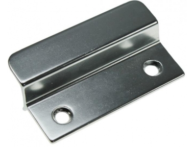 Silver aluminum small handle for French doors Outdoor HEICKO Segatori