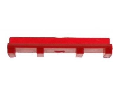 Thick glazing for glass bonding 3mm Red HEICKO Segatori