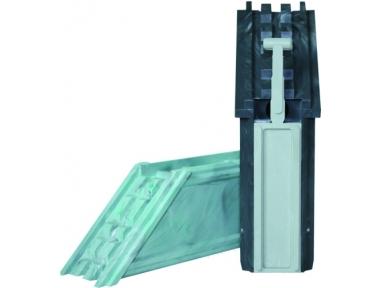 Coupling Angular sealable PVC HEICKO Segatori