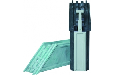 Coupling Angular sealable PVC HEICKO Segatori
