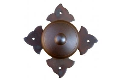 1704 Ø70 Door Knob Wrought Iron