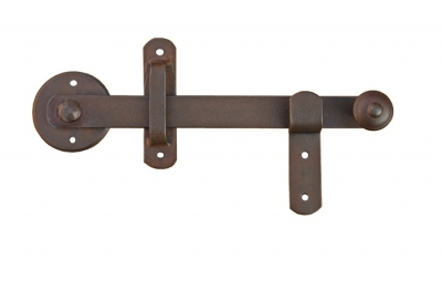 1720 Latch with Spindle 8mm Galbusera Wrought Iron