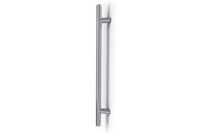 Frankfurt Stainless Steel Pull Handle Tropex Ø30 Bevel Supports
